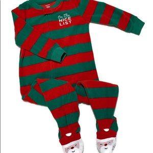 🔴 5/$25   Carter's Christmas Pajamas 24 months